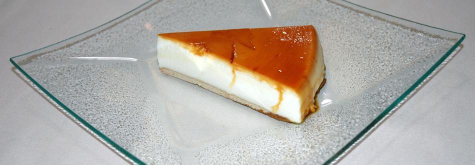 Tarta de queso y cuajada casera