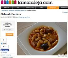 Imagen de la fabada asturiana del Restaurante El Oso